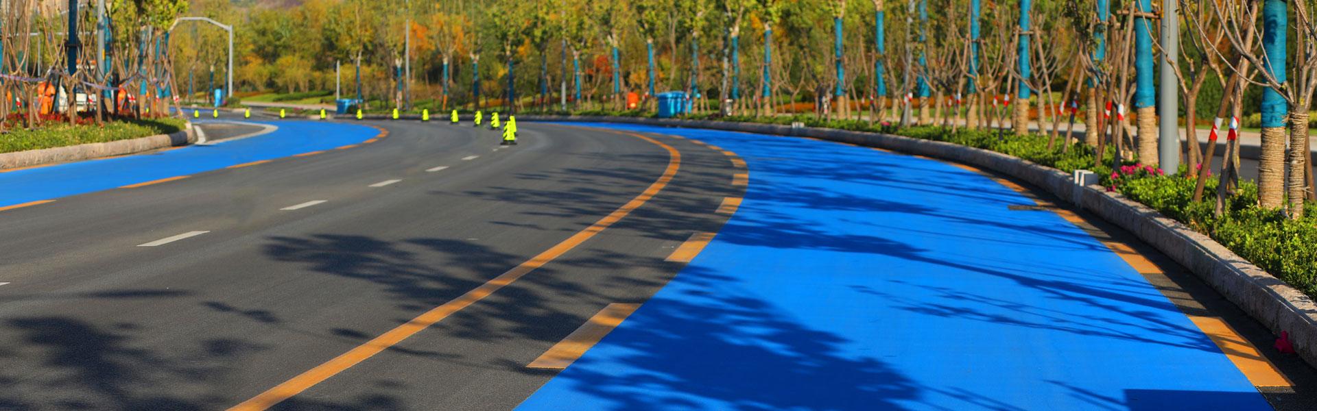 华山环湖路马拉松赛道