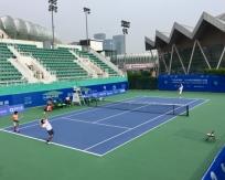 济南奥林匹克体育中心网球场地改造工程