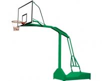 JSL-L083移动式半箱单臂篮球架