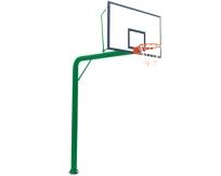 JSL-L087地埋式圆管篮球架