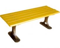 钢芯塑木休闲椅LSL-GS060