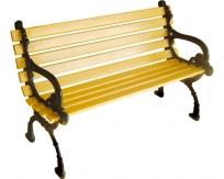 钢芯塑木休闲椅LSL-GS061