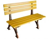 钢芯塑木休闲椅LSL-GS063