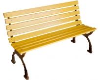 钢芯塑木休闲椅LSL-GS065